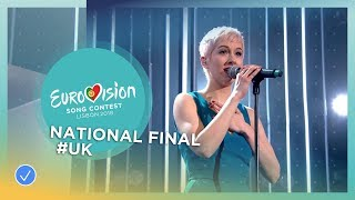 EUROPESE OMROEP | Eurovision Song Contest | SuRie - Storm - United Kingdom - National Final Performance - Eurovision 2018 | 1518109203 2018-02-08T17:00:03+00:00