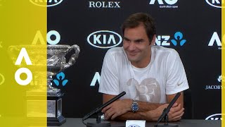 EUROPESE OMROEP | Australian Open TV | Roger Federer press conference (F) | Australian Open 2018 | 1517159374 2018-01-28T17:09:34+00:00