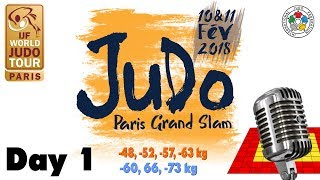 EUROPESE OMROEP | Judo | Grand-Slam Paris 2018: Day 1 | 1518278186 2018-02-10T15:56:26+00:00
