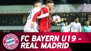 EUROPESE OMROEP | FC Bayern München | Highlights UEFA Youth League: U19 unterliegt Real Madrid in großartiger Partie mit 2:3 | 1519296075 2018-02-22T10:41:15+00:00