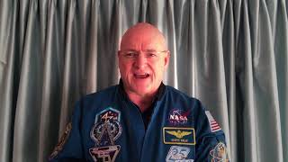 EUROPESE OMROEP | UN Office for Outer Space Affairs | Scott Kelly video message for screening of