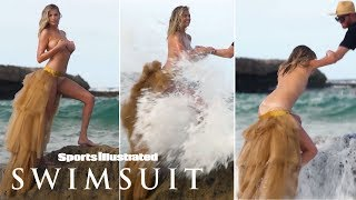 EUROPESE OMROEP | Sports Illustrated Swimsuit | Watch Kate Upton Get Swept Away During Topless Photoshoot | Candids | Sports Illustrated Swimsuit | 1519405201 2018-02-23T17:00:01+00:00