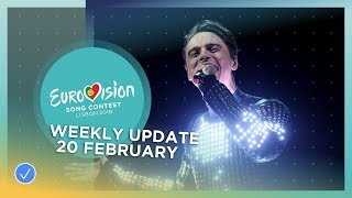 EUROPESE OMROEP | Eurovision Song Contest | Eurovision Song Contest - Weekly Update - 20 February 2018 | 1519142402 2018-02-20T16:00:02+00:00