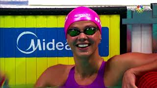 EUROPESE OMROEP | USA Swimming | Deck Pass Live - FINA World Swimming Championships Day 2 - Mallory Commerford Interview | 1518561820 2018-02-13T22:43:40+00:00