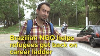EUROPESE OMROEP | UNHCR, the UN Refugee Agency | Brazilian NGO helps refugees get back on career ladder | 1517585096 2018-02-02T15:24:56+00:00