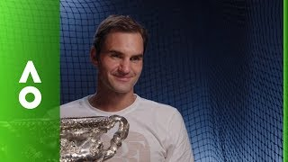 EUROPESE OMROEP | Australian Open TV | Roger Federer post match interview (F) | Australian Open 2018 | 1517156499 2018-01-28T16:21:39+00:00