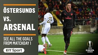 EUROPESE OMROEP | BT Sport | Europa League Highlights: Östersunds 0-3 Arsenal | 1518728272 2018-02-15T20:57:52+00:00