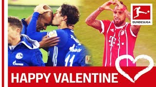EUROPESE OMROEP | Bundesliga | Kisses, Hugs and Love from Vidal, Weigl and Co. – Happy Valentine's Day | 1518606008 2018-02-14T11:00:08+00:00