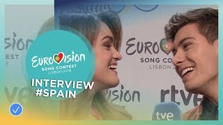 EUROPESE OMROEP | Eurovision Song Contest | Meet Alfred and Amaia from Spain 🇪🇸- 2018 Eurovision Song Contest | 1517673606 2018-02-03T16:00:06+00:00
