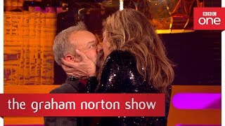 EUROPESE OMROEP | BBC | Graham gets Hollywood kissing tips - The Graham Norton Show - BBC One | 1518800202 2018-02-16T16:56:42+00:00