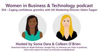 EUROPESE OMROEP | Microsoft | Episode 14 - Caging confidence gremlins with UK Marketing Director Helen Tupper | 1518650701 2018-02-14T23:25:01+00:00