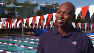 EUROPESE OMROEP | USA Swimming | Cullen Jones Hosts a Swim 1922 Swim Clinic at the TYR Pro Swim Series in Austin | 1516728404 2018-01-23T17:26:44+00:00