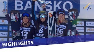 EUROPESE OMROEP | FIS Snowboarding | Julia Dujmovits back to winning ways in the second PGS at Bansko | Highlights | 1517149150 2018-01-28T14:19:10+00:00