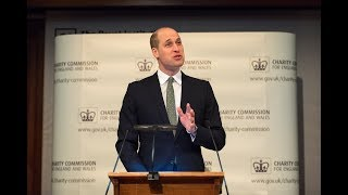 EUROPESE OMROEP | The Royal Family | The Duke of Cambridge gives the Keynote Speech at the Charity Commission AGM | 1516714234 2018-01-23T13:30:34+00:00
