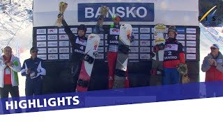 EUROPESE OMROEP | FIS Snowboarding | Pierre Vaultier with his season's first in Bansko SBX Sprint | Highlights | 1517054618 2018-01-27T12:03:38+00:00