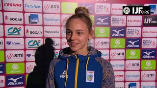 EUROPESE OMROEP | Judo | Daria BILODID (UKR) Winner Paris Grand Slam 18 | 1518305524 2018-02-10T23:32:04+00:00