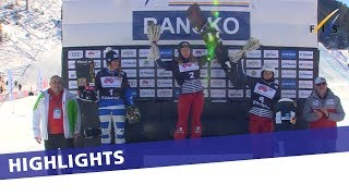 EUROPESE OMROEP | FIS Snowboarding | Charlotte Bankes storms to her third in Bansko sprint SBX | Highlights | 1517054248 2018-01-27T11:57:28+00:00