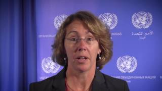 EUROPESE OMROEP | UN Office for Outer Space Affairs | Sandy Magnus on UNOOSA-UN Women