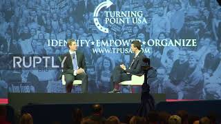EUROPESE OMROEP | Ruptly | USA: Eric Trump speaks of father's 'tremendous sacrifice' | 1519363017 2018-02-23T05:16:57+00:00