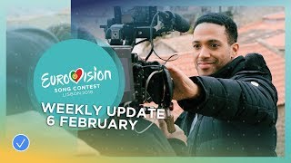 EUROPESE OMROEP | Eurovision Song Contest | Eurovision Song Contest - Weekly Update 6 February 2018 | 1517932806 2018-02-06T16:00:06+00:00