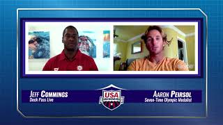 EUROPESE OMROEP | USA Swimming | Deck Pass Live- 2017 FINA World Swimming Championships Day 7 - Aaron Peirsol Interview | 1518738354 2018-02-15T23:45:54+00:00