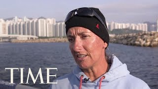 EUROPESE OMROEP | TIME | Volvo Ocean Race: Dee Caffari On Global Warming's Effect Out On The Conditions At Sea | TIME | 1518818387 2018-02-16T21:59:47+00:00